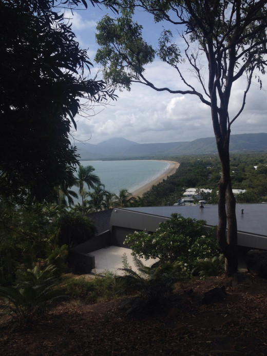 Costal views from Port Douglas