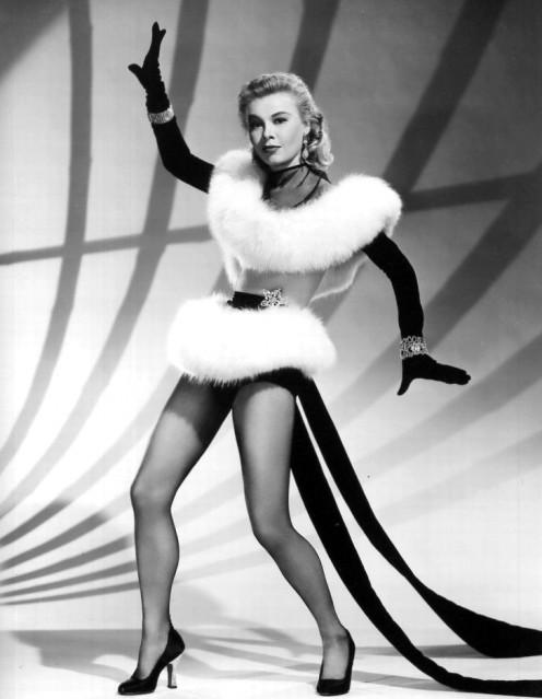 Vera-Ellen lovely publicity photo for classic film White Christmas