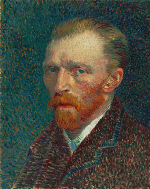 Self-Portrait. Vincent van Gogh. 1887.