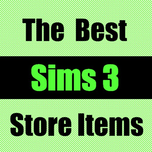"""The Best Sims 3 Store Items"""