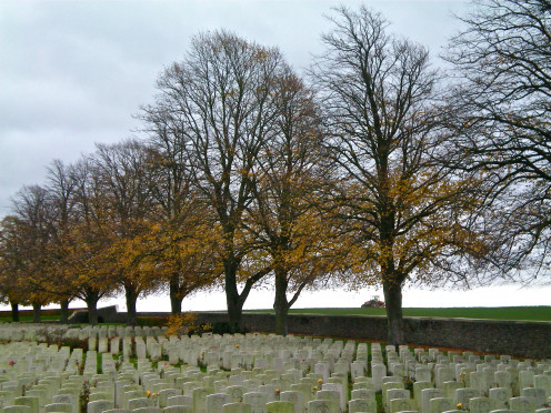 A Commonwealth World War One Cemetry, France (c) A. Harrison