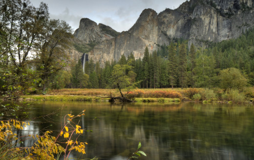 Valley View, Merced River, Yosemite National Park, California