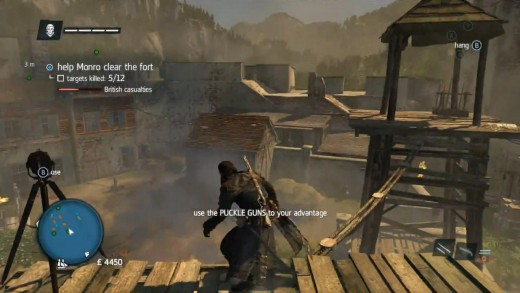 Forts are still yours for the taking. They still make for some of the bigger challenges in Assassin's Creed Rogue.