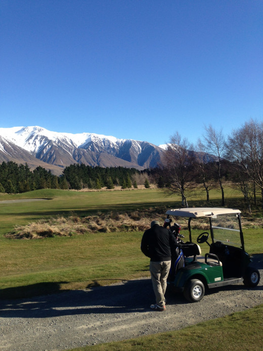 Here's a taste of what's available, this is near the southern alps inland from Christchurch.