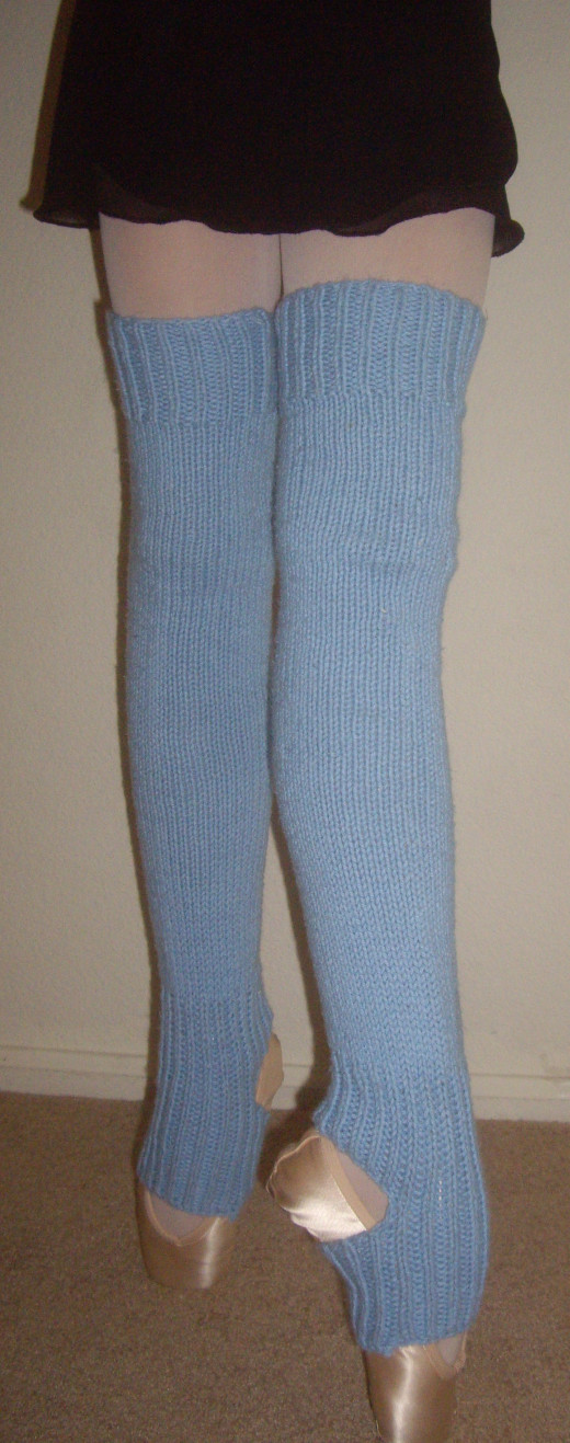 Knitting Patterns Leg Warmers Ballet : How to Knit Leg Warmers for Ballet Dancers - Free Pattern FeltMagnet