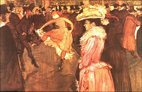 Bal at Moulin Rouge: A humorous and emotionally touching painting