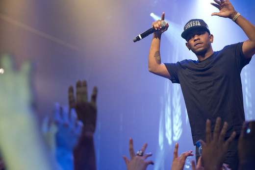 Kendrick Lamar, arguably the hottest MC in the game