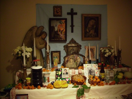 Altar created by Tucson Museum of Art