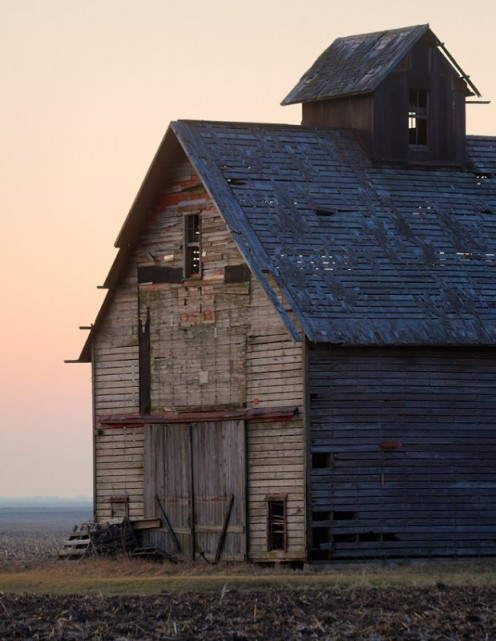 If this abandoned barn could share its millions of priceless memories