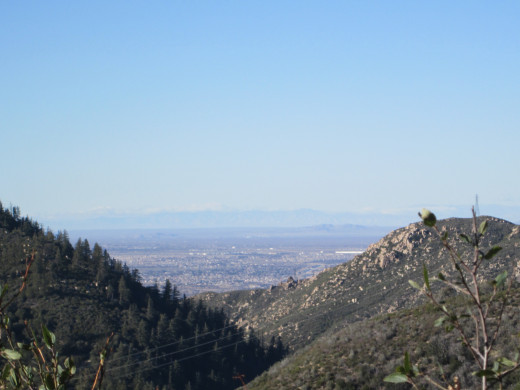 The view of Hesperia from another angle.