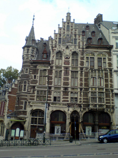 Former Delacre Pharmacy, Brussels