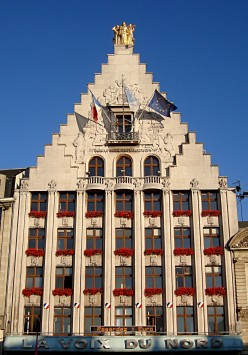 Frontage of the La Voix du Nord building, Lille (Nord)