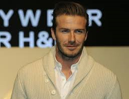 David Beckham, soccer star