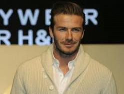 David Beckham, soccer star