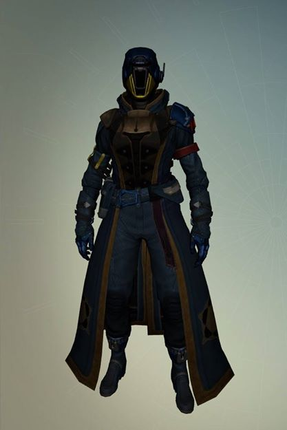 My character in Destiny. Shes a Warlock.