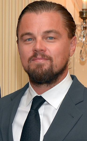The year following the Great Gatsby, Leonardo DiCaprio while visiting at the White House.