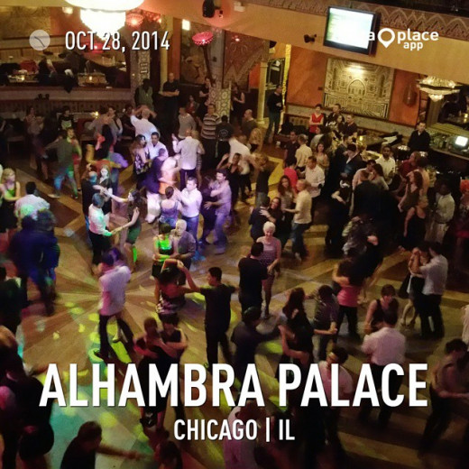 Salsa Tuesdays at Alhambra Palace in Chicago