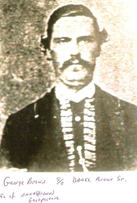 Authors 2nd great grandfather, George W. Brown who was a 2nd Lieutenant in the 12th Wisconsin Infantry Regiment during the Civil War.