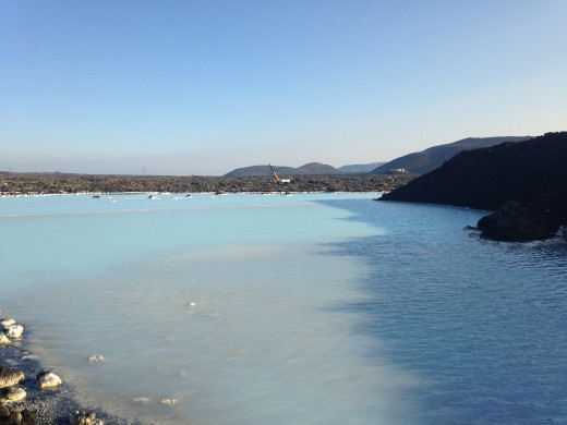 The pools surrounding the Blue Lagoon