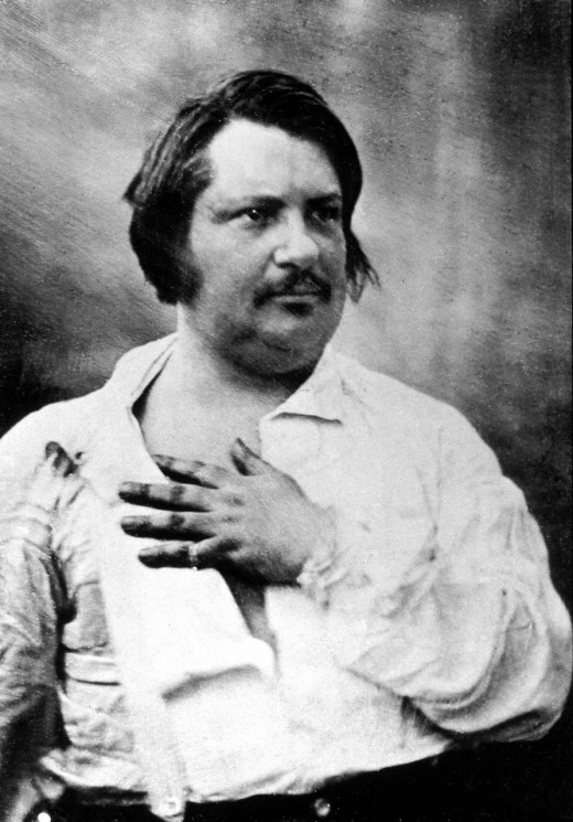 Author Honore de Balzac