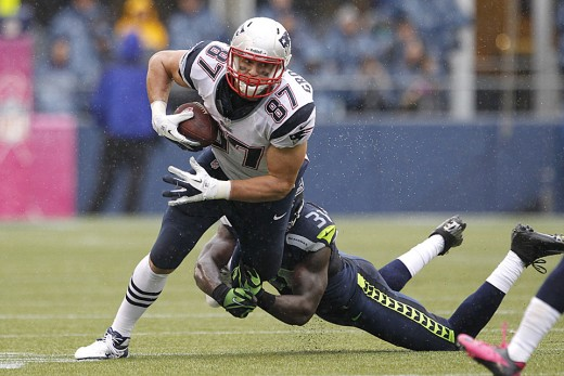 The key to New England overcoming Seattle's Legion of Boom will be Tight End Rob Gronkowski and the running game of Blount & Vereen.