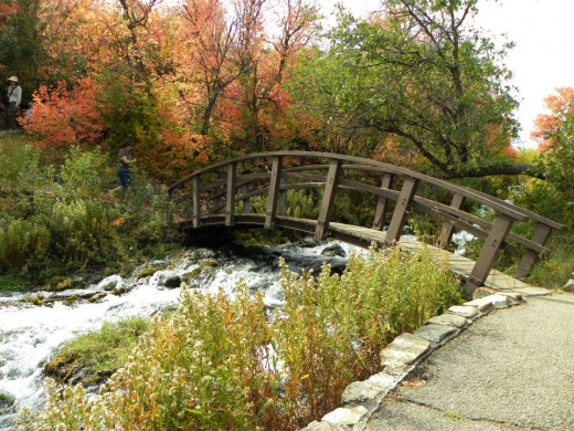 Crystal Springs off the road in American Fork Canyon, UT has many lovely areas. Perfect for snapping pictures.