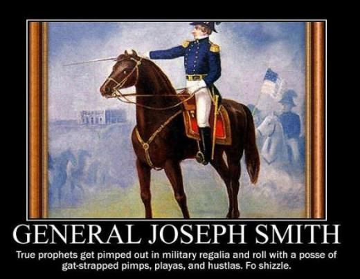 Illinois State militia lieutenant General Joseph Smith