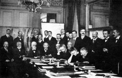 First Solvay Conference on Physics, Brussels, 1911.