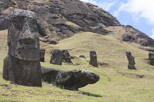 Easter Island, Rano Raraku