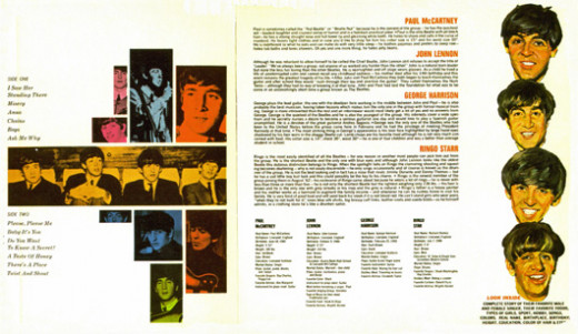 "This is the ""gatefold"" cover (opened up) for ""Songs, Pictures, and Stories of the Fabulous Beatles."""