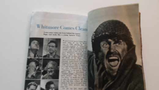 Late Great Character Actor James Whitmore Piece