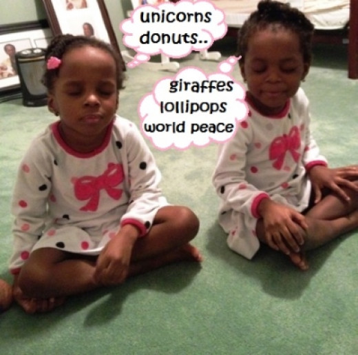 Children can meditate too.