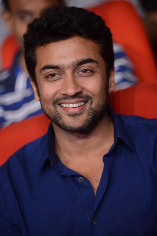 Handsome actor Surya in 2013.