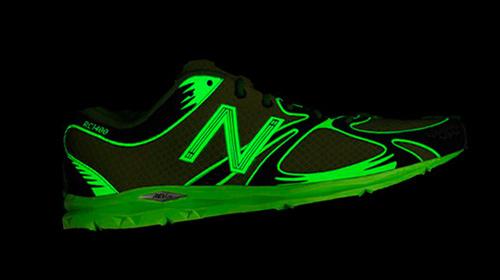 New Balance fluorescent trainers