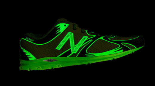 New Balance fluorescent trainers