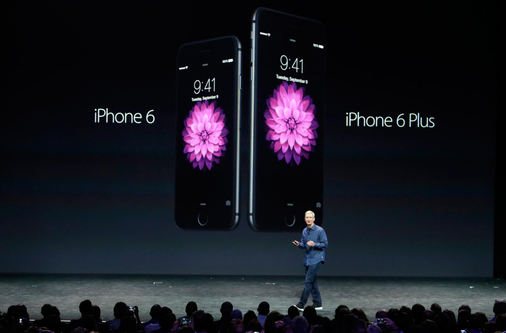 iPhone 6 and iPhone 6 Plus from Apple