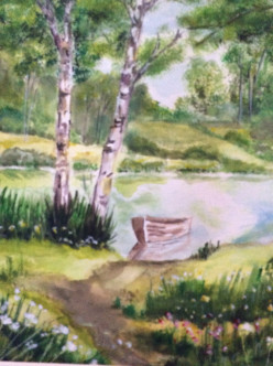 Can You Paint?  A Lesson In Watercolor
