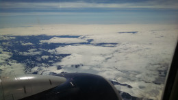 Despite the weather Alaska was beautiful from so many angeles.