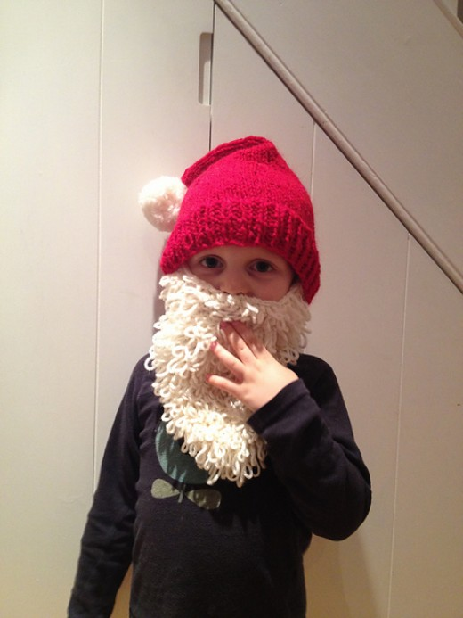 Free Knitted Beard Pattern : Free Knitting Beard and Hat Patterns HubPages