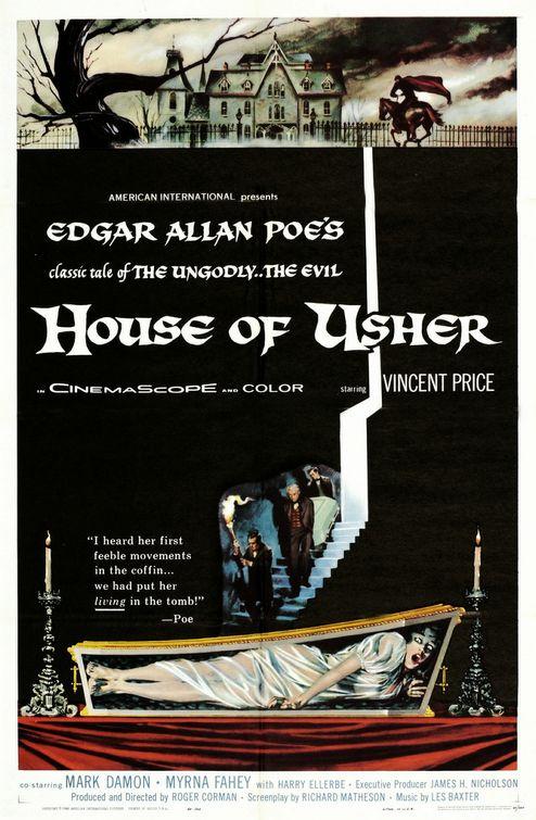 """House of Usher"" poster"