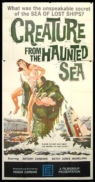 """""""Creature From the Haunted Sea"""" poster"""