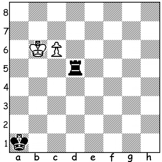 This is the Saavedra Position, named after the Spanish priest who discovered the outstanding win in this once-thought-to-be-drawn endgame. It is one of the most famous puzzles and endgame studies there is. See if you can solve it.