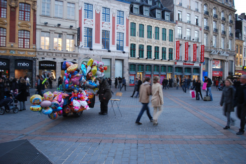 Scene from 'Place de la Vielle Bourse' (as formerly known)