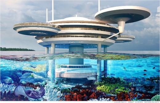 The lost city of Atlantis in Dubai