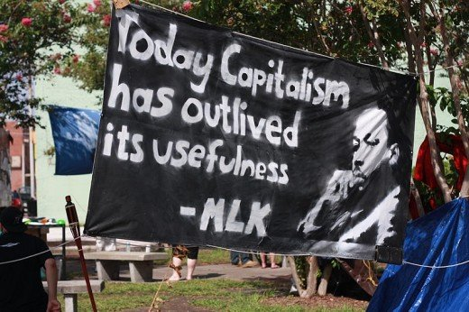 Martin Luther King said that Capitalism had outlived its usefulness.