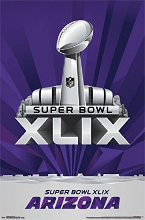 Super Bowl XLIX - Logo Poster Print (22 x 34)