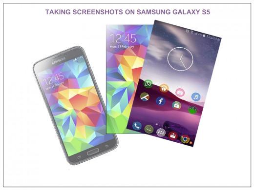 Screen capture on Samsung Galaxy S5
