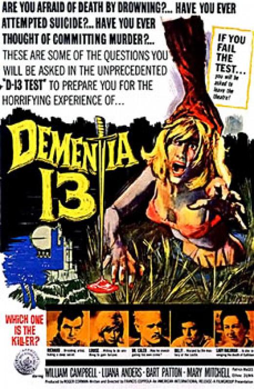 """Dementia 13"" poster"