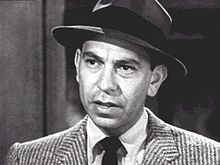 Photo of early Jack Webb at work