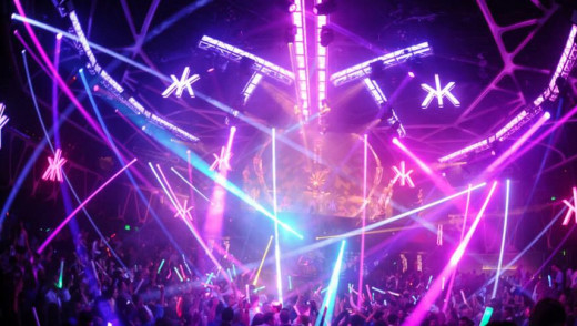 Amazing Night Life in Vegas